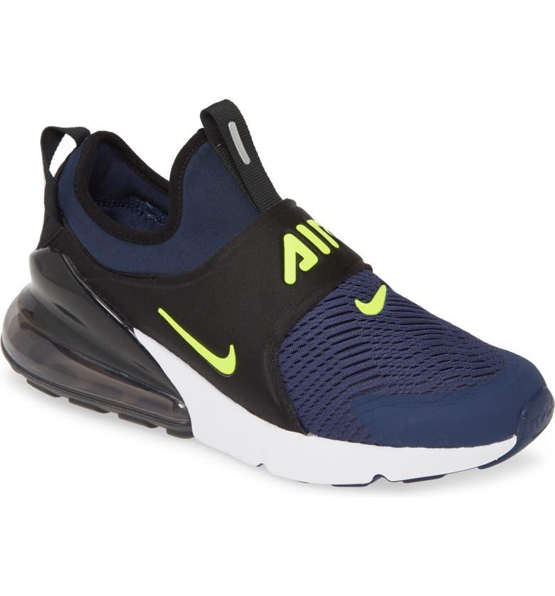 NIKE Air<sup>®</sup> Max Extreme Sneaker, Main, color, MIDNIGHT NAVY/ LEMON/ BLACK