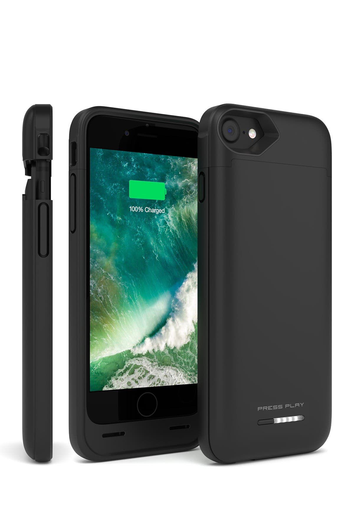 Image of PRESS PLAY MFi Nero Battery iPhone 8/7 Case - Black