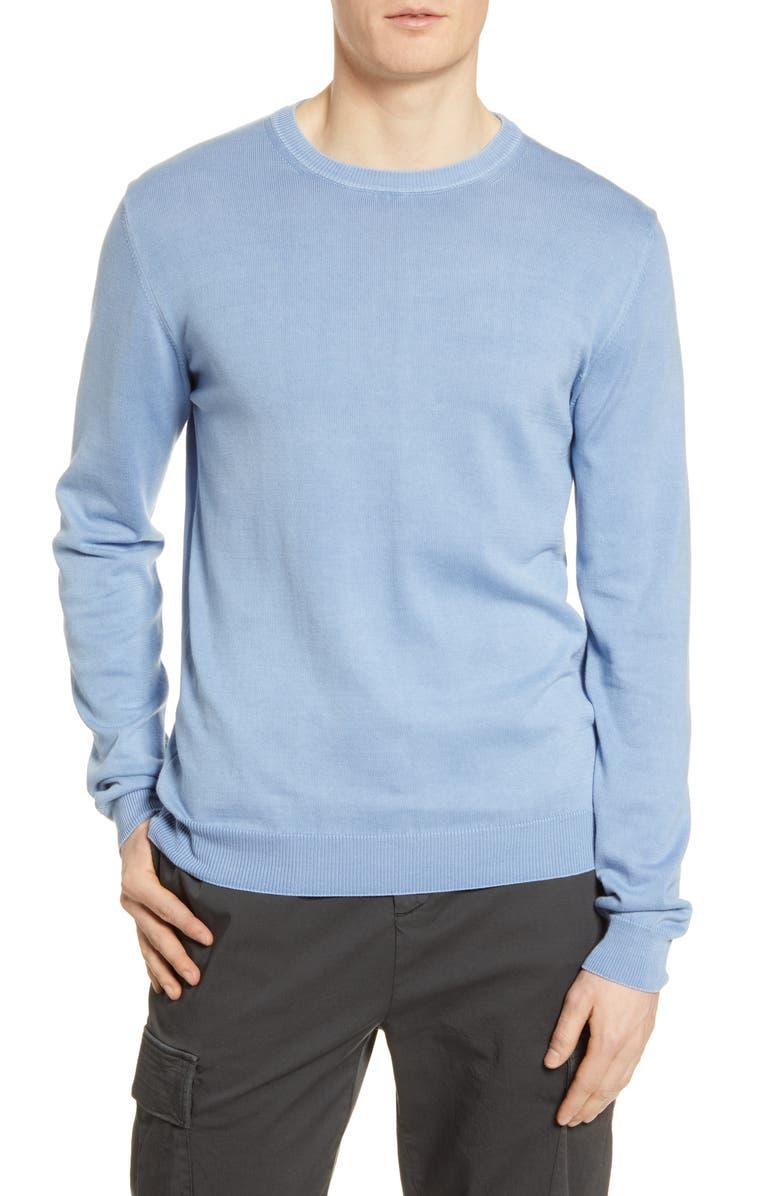 OFFICINE GÉNÉRALE Neils Crewneck Sweater, Main, color, 417