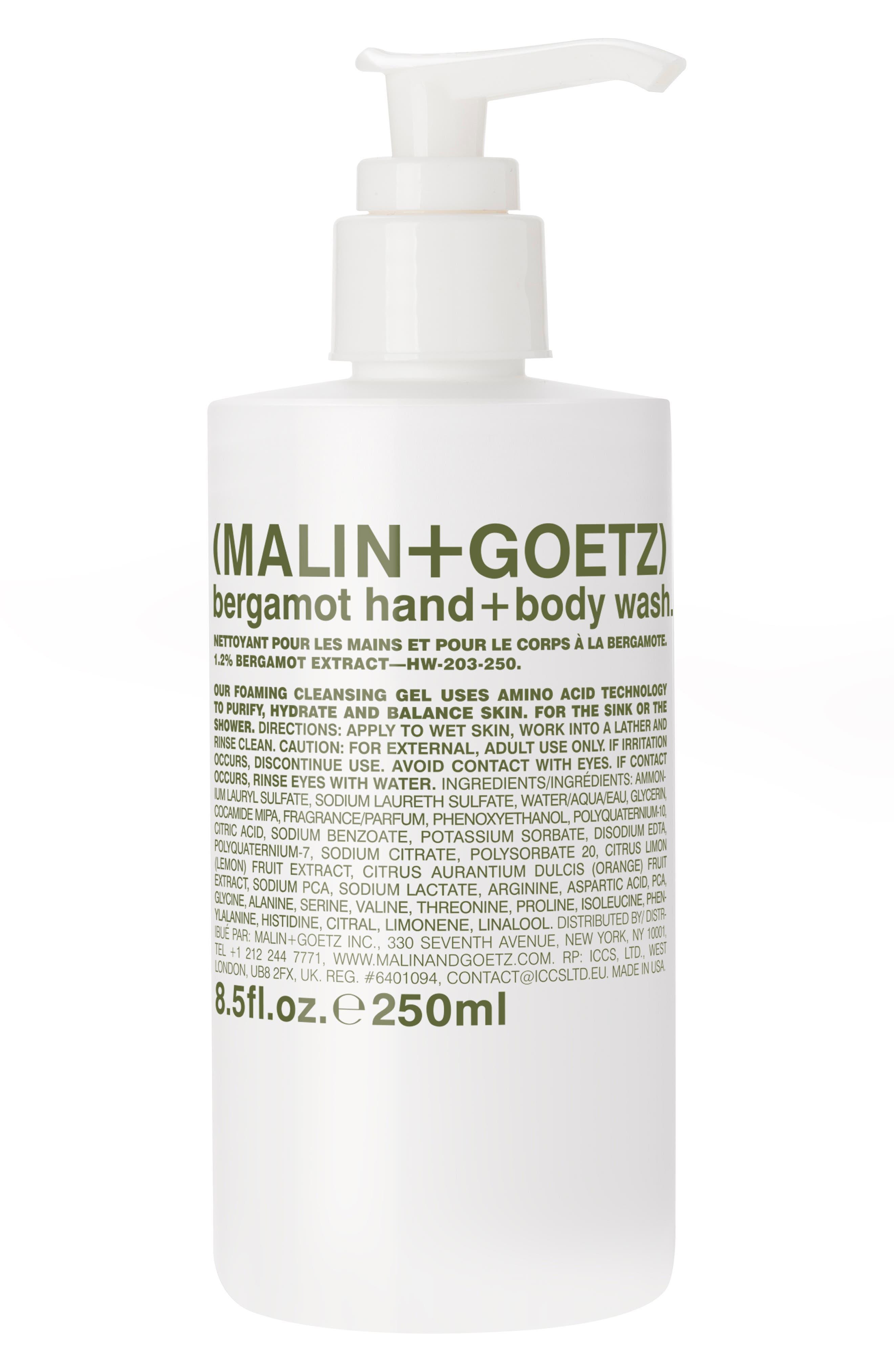 Malin+Goetz Bergamot Hand & Body Wash