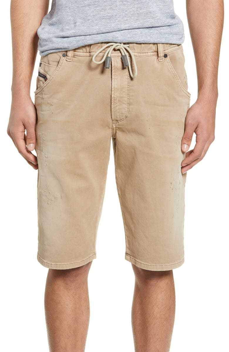 DIESEL<SUP>®</SUP> Krooshort Drawstring Shorts, Main, color, 069FH