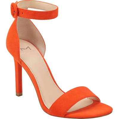 Marc Fisher Ltd Kora Ankle Strap Sandal- Orange