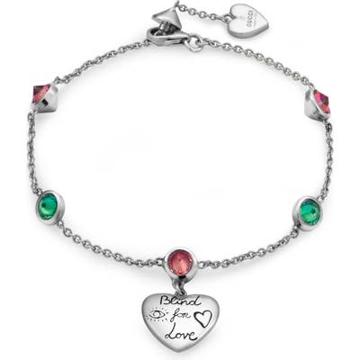Gucci Gg Blind For Love Bracelet