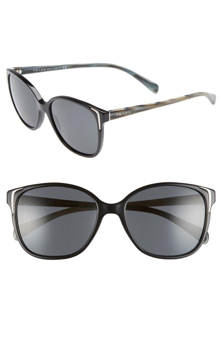 401cde745b124 Prada 55mm Retro Sunglasses (Nordstrom Exclusive)