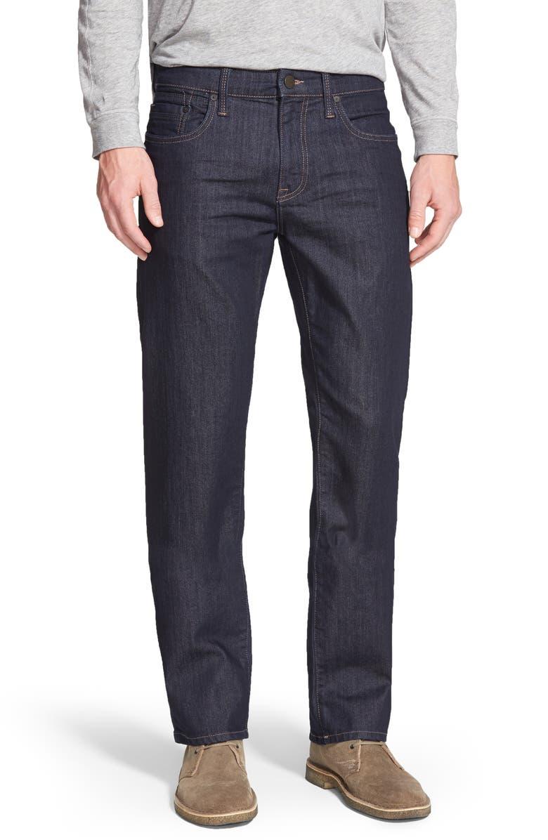 MAVI JEANS Zach Straight Leg Jeans, Main, color, RINSE WILLIAMSBURG