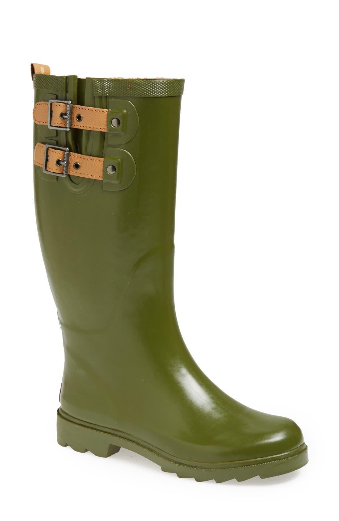 ,                             'Top Solid' Rain Boot,                             Main thumbnail 39, color,                             313