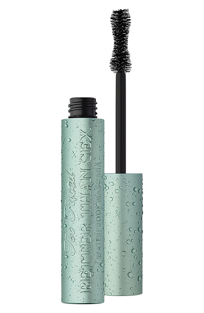 TOO FACED Better Than Sex Waterproof Mascara, Main, color, BLACK