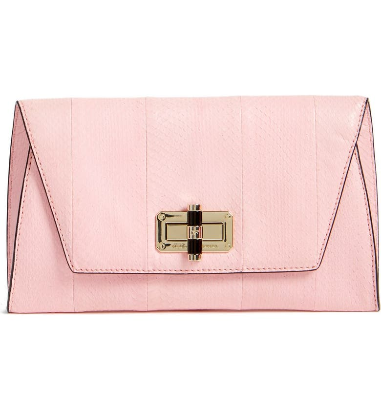 DIANE VON FURSTENBERG 'Uptown' Clutch, Main, color, 650