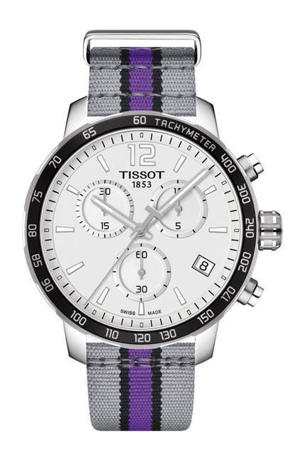 Image of Tissot Men's Quickster Chronograph NBA Sacramento Kings Watch, 42mm