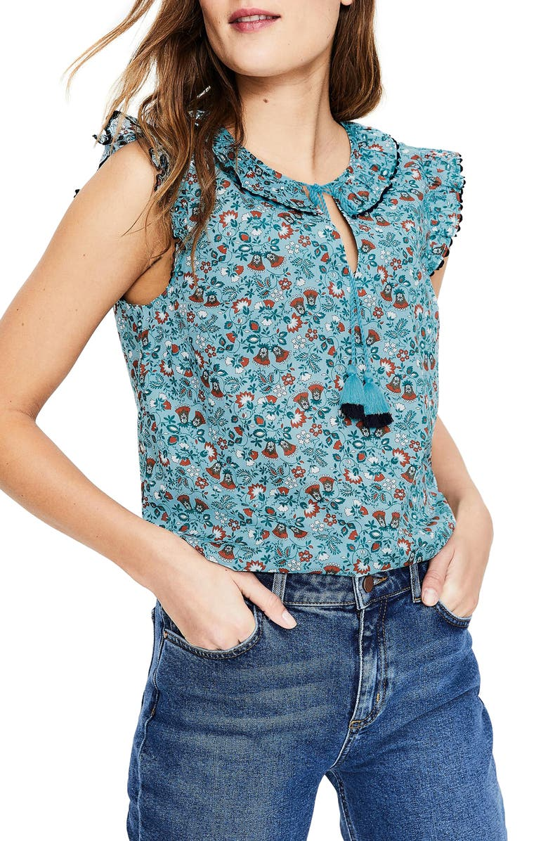 BODEN Laurie Top, Main, color, 454