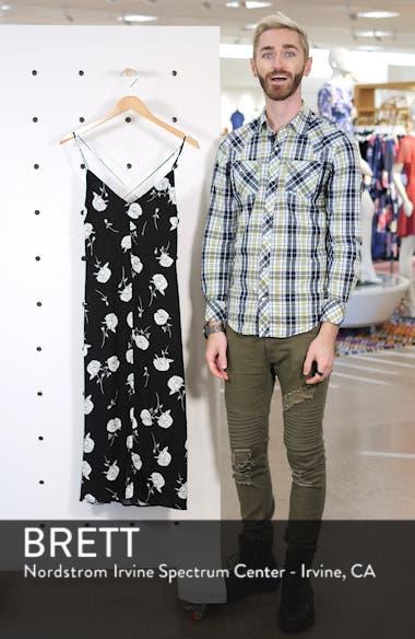 Floral Strappy Midi Dress, sales video thumbnail