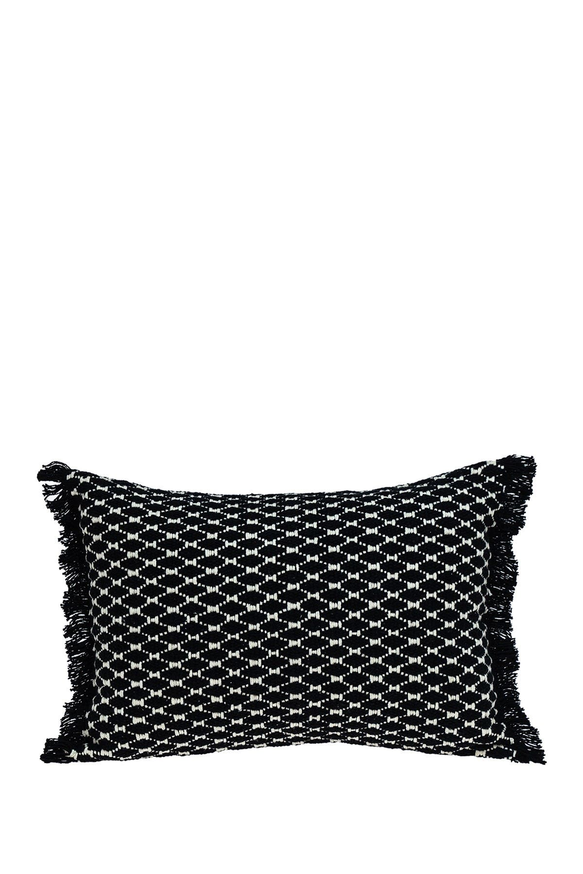 Image of Parkland Collection Calypso Transitional Black Throw Pillow