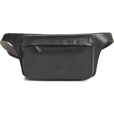 Frye Leather Belt Bag - Black