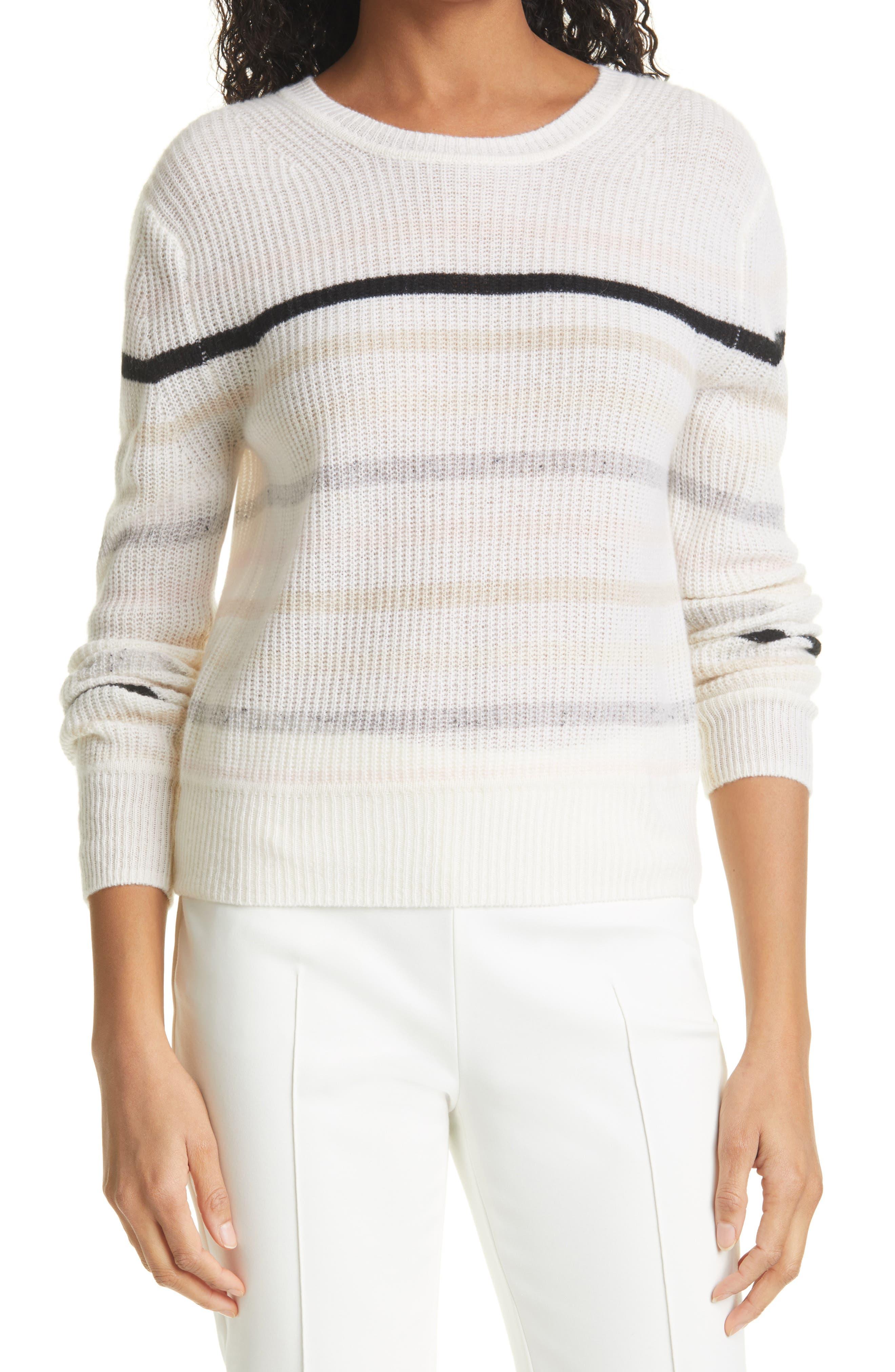 Iona Stripe Cashmere Sweater