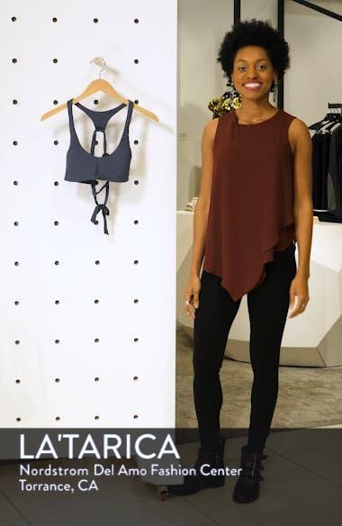 Salt Water Solids Active Bikini Top, sales video thumbnail