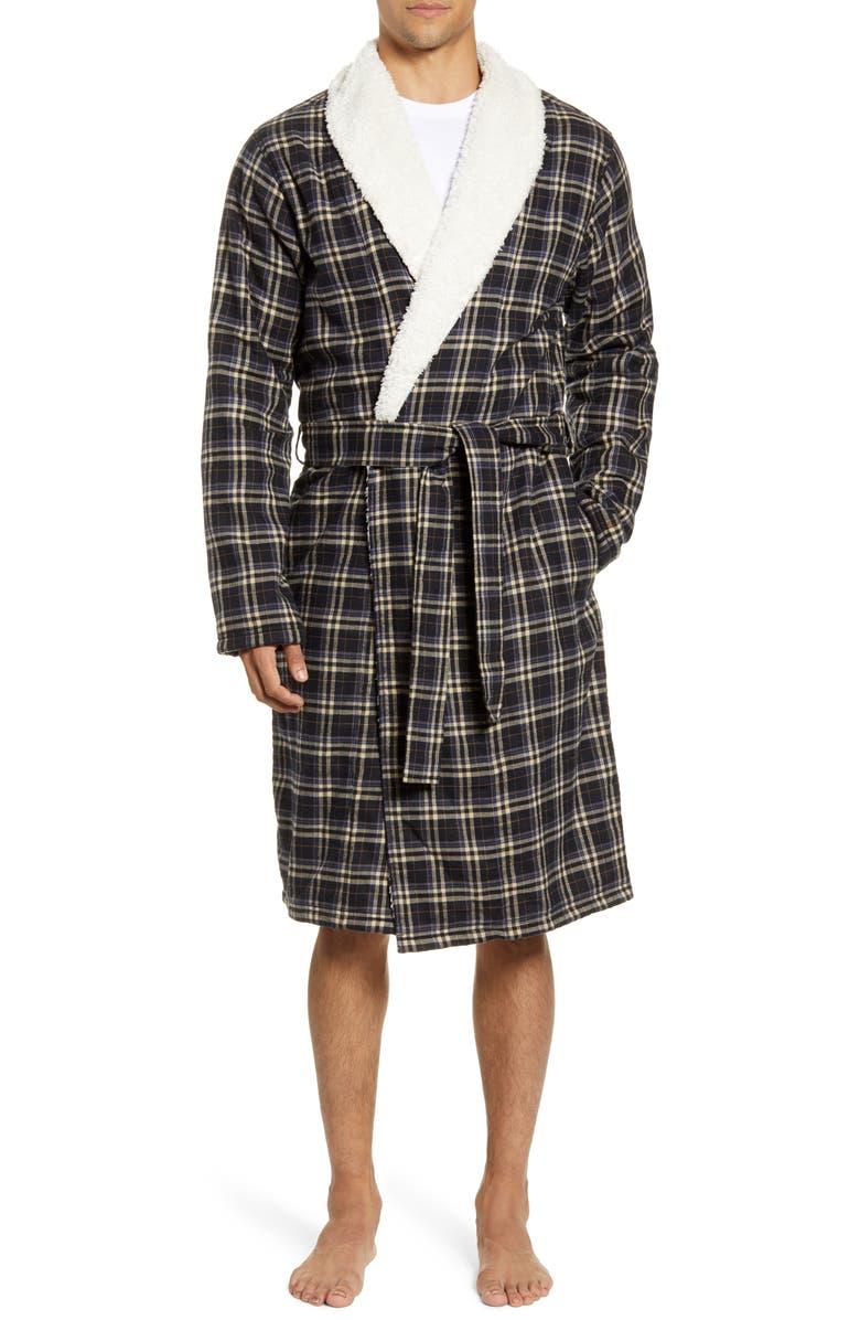 UGG<SUP>®</SUP> Kalib Robe, Main, color, BLACK
