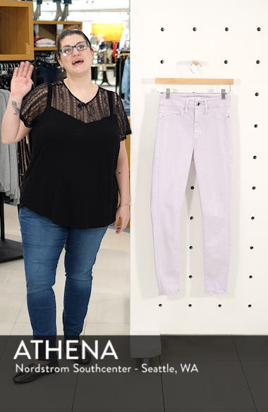 Good Legs High Waist Crop Skinny Jeans, sales video thumbnail