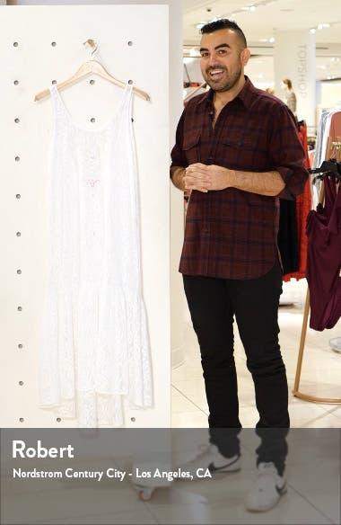 Camellia Cover-Up Lace Maxi Dress, sales video thumbnail