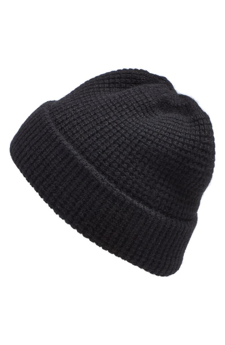3627e1b64 Madewell Waffle Knit Cashmere Hat | Nordstrom