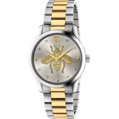 Gucci G-Timeless Bee Bracelet Watch,