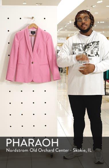 Parke Stretch Linen Blend Blazer, sales video thumbnail