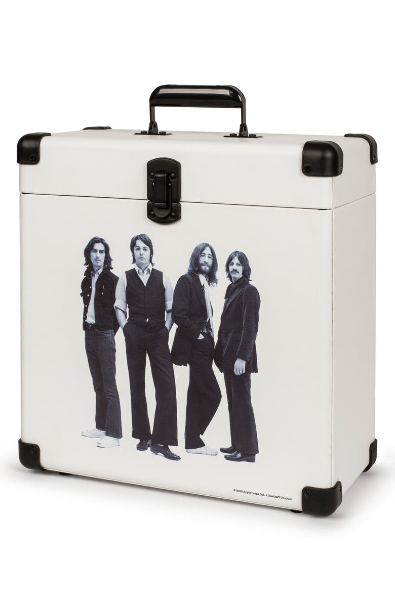 CROSLEY RADIO The Beatles Record Carrier Case, Main, color, BEATLES