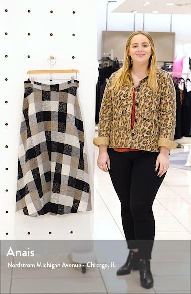 Check Midi Circle Skirt, sales video thumbnail