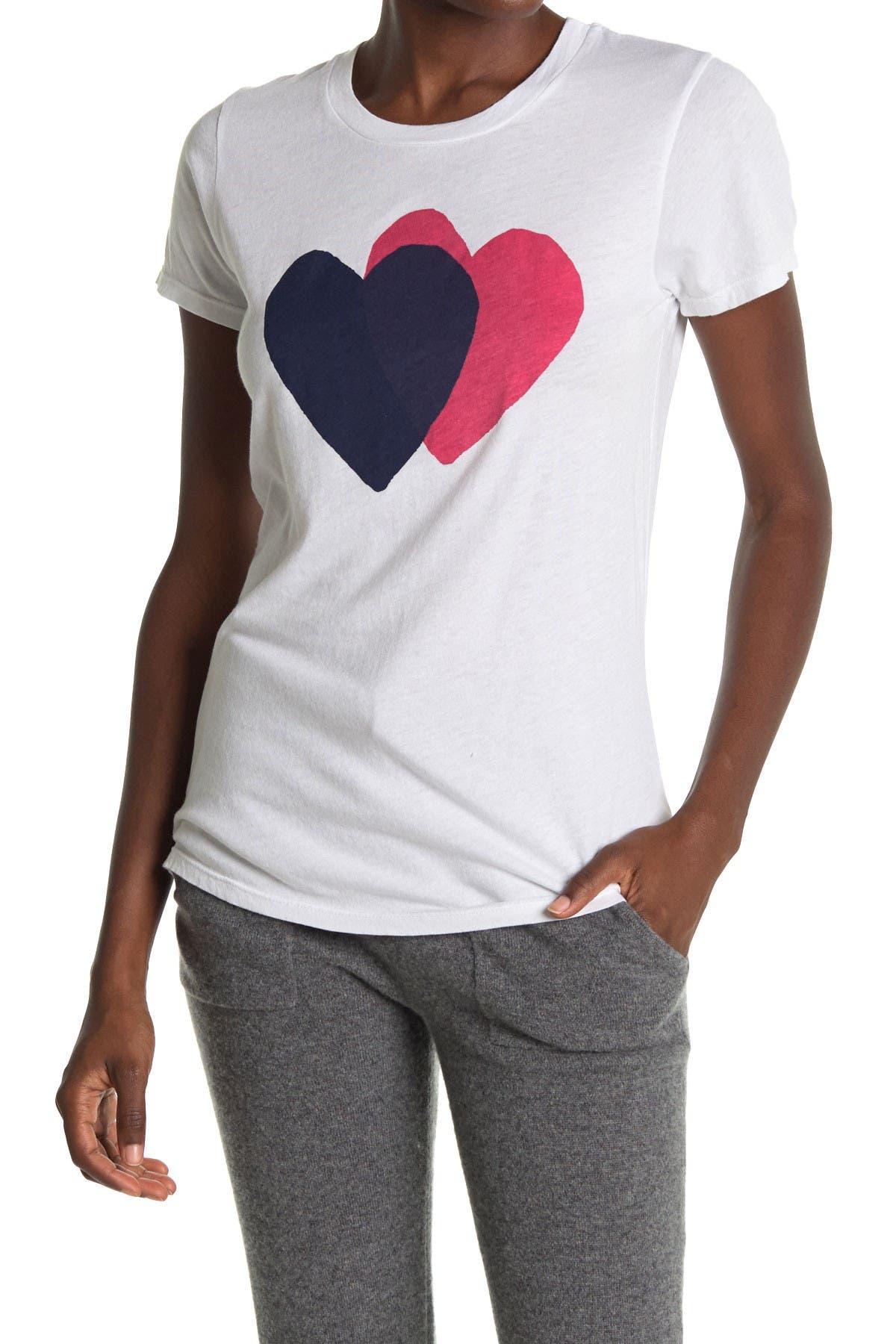 Image of Sundry Heart Graphic Crew Neck T-Shirt