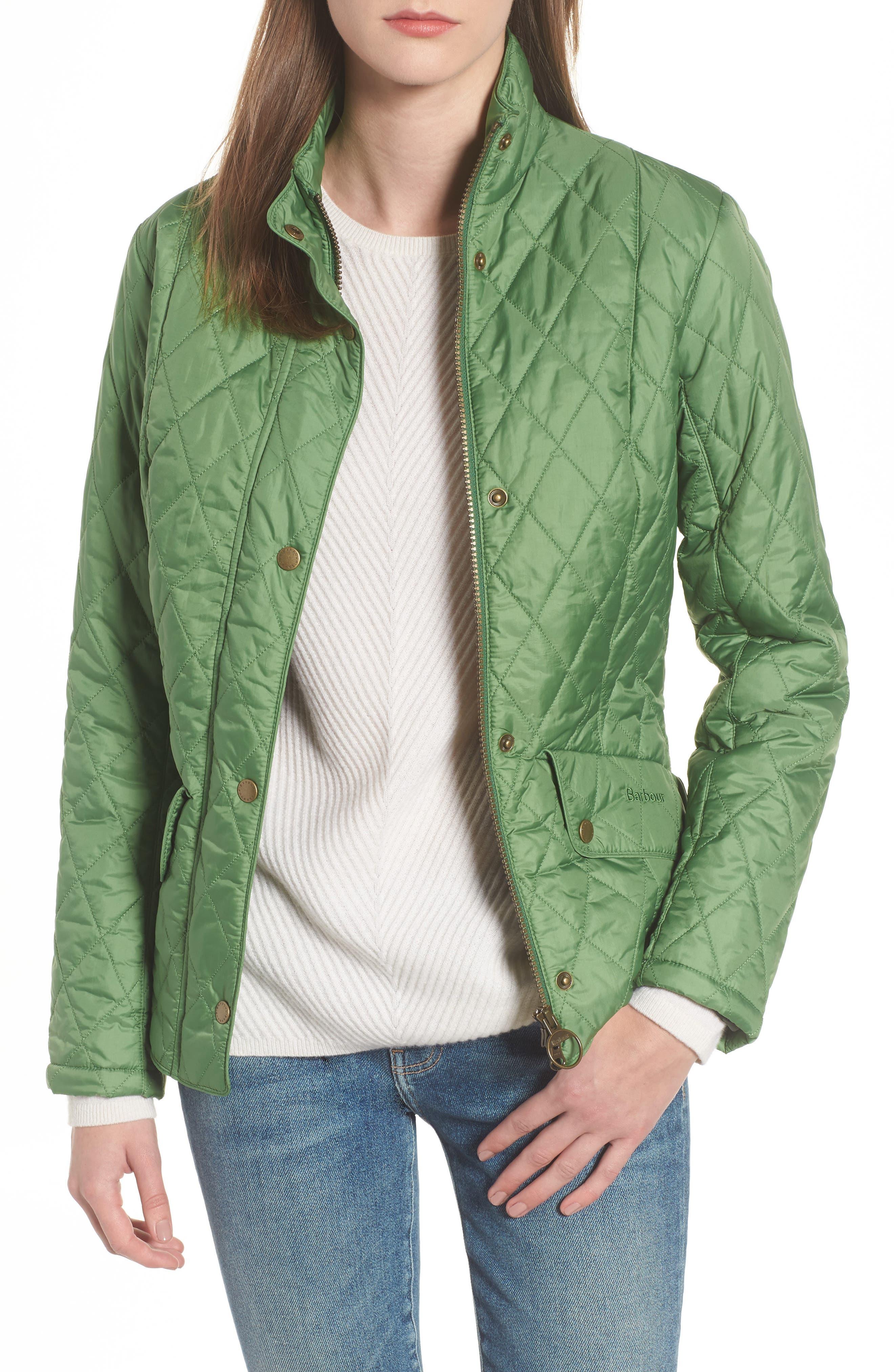 Barbour Cavalry Flyweight Quilt Jacket, US / 10 UK - Green