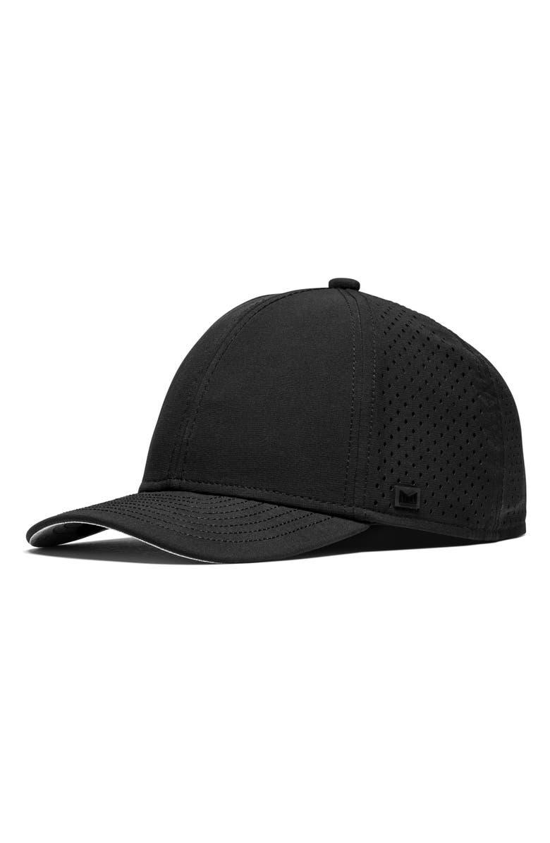 MELIN Hydro A-Game Snapback Baseball Cap, Main, color, BLACK
