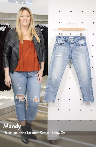 Kelley Crop Tapered Jeans, sales video thumbnail