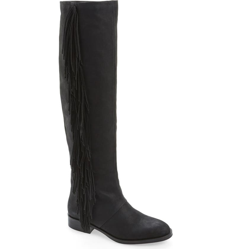 SAM EDELMAN 'Josephine' Tall Boot, Main, color, 001