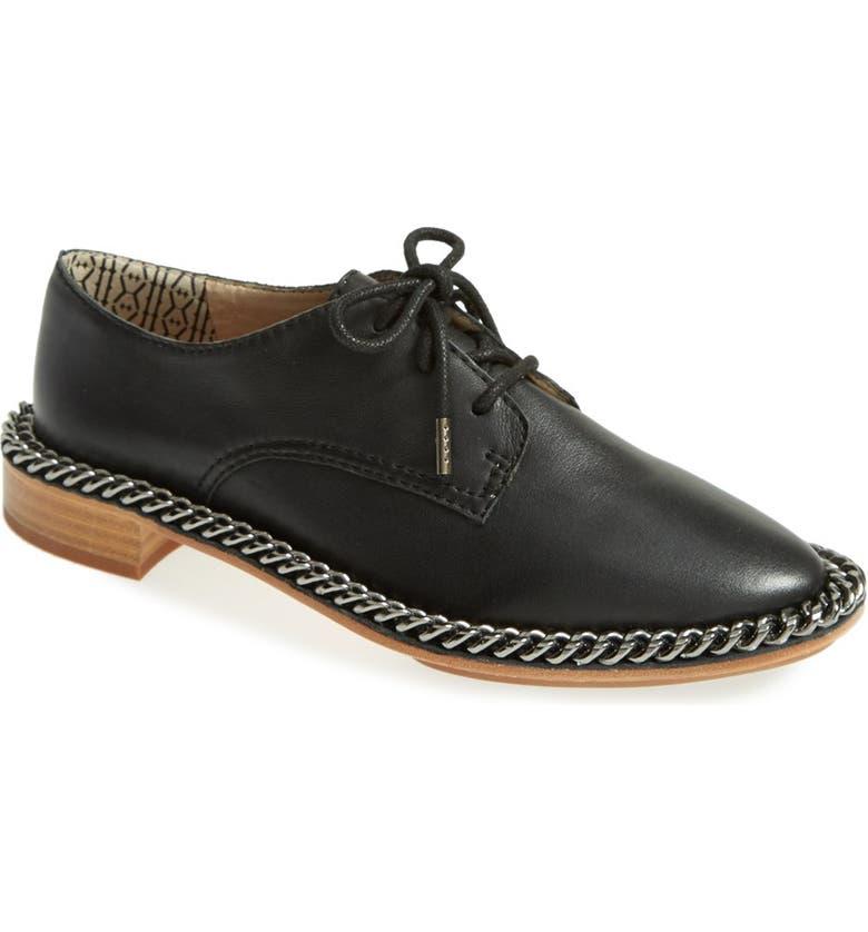 MATT BERNSON 'Filmore' Leather Oxford, Main, color, 001
