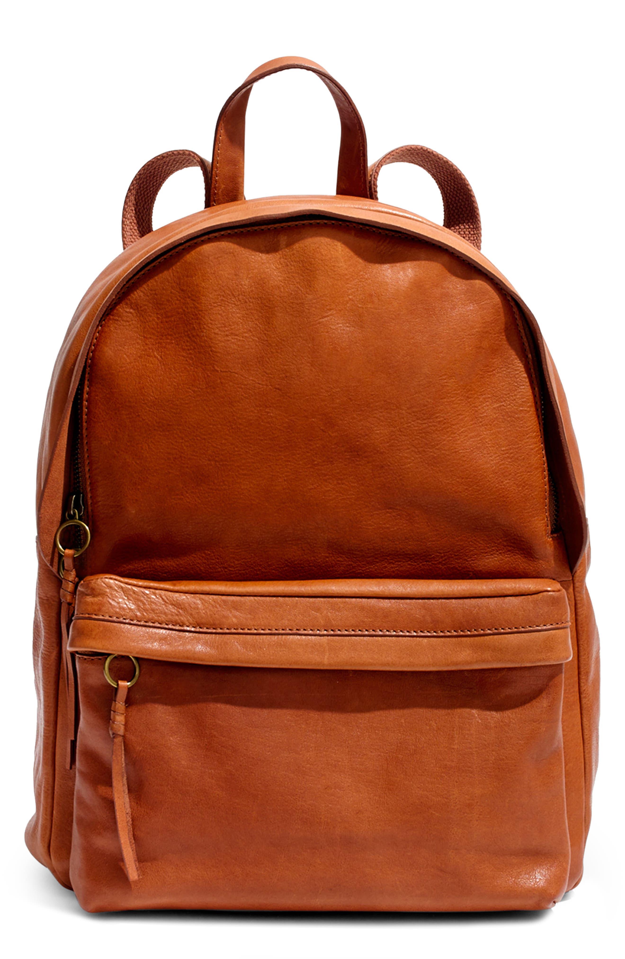 Lorimer Leather Backpack