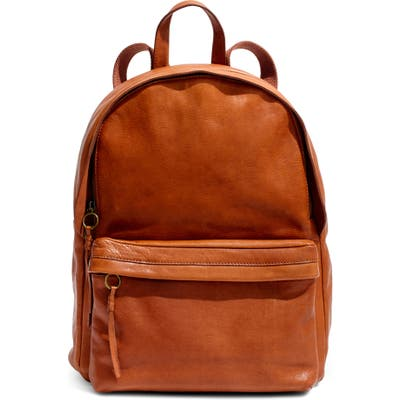 Madewell Lorimer Leather Backpack -