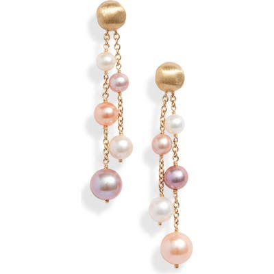 Marco Bicego Africa Double Strand Pearl Earrings