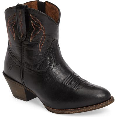 Ariat Darlin Short Western Boot, Black