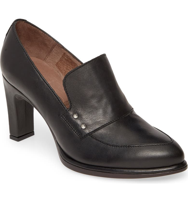 WONDERS M-4301 Loafer Pump, Main, color, ISEO NEGRO LEATHER