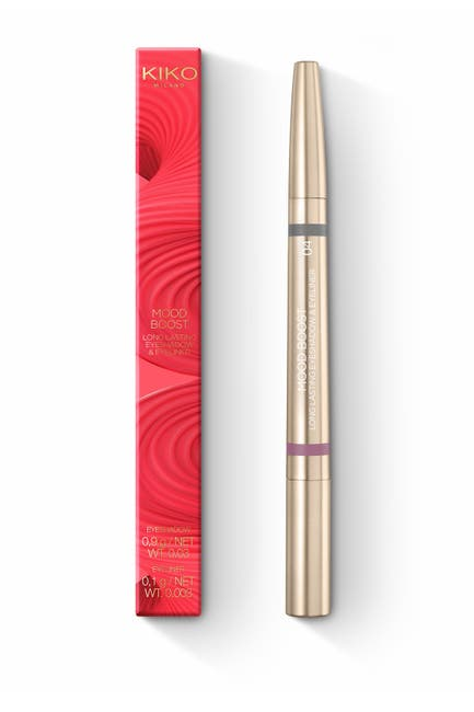 Image of Kiko Milano Mood Boost Long Lasting Eyeshadow & Eyeliner - 04 Grey/Mauve
