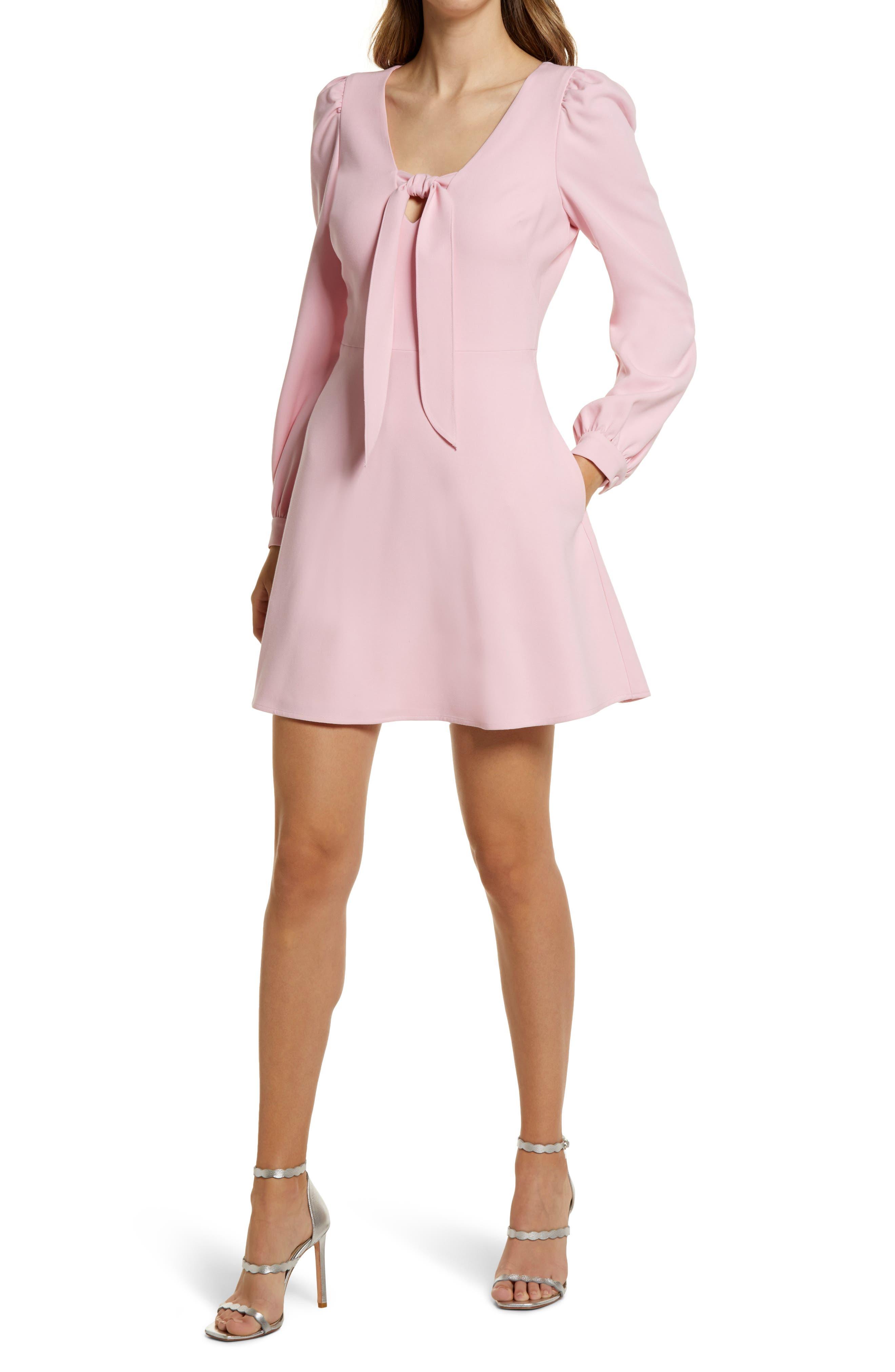 Ellen Long Sleeve Minidress