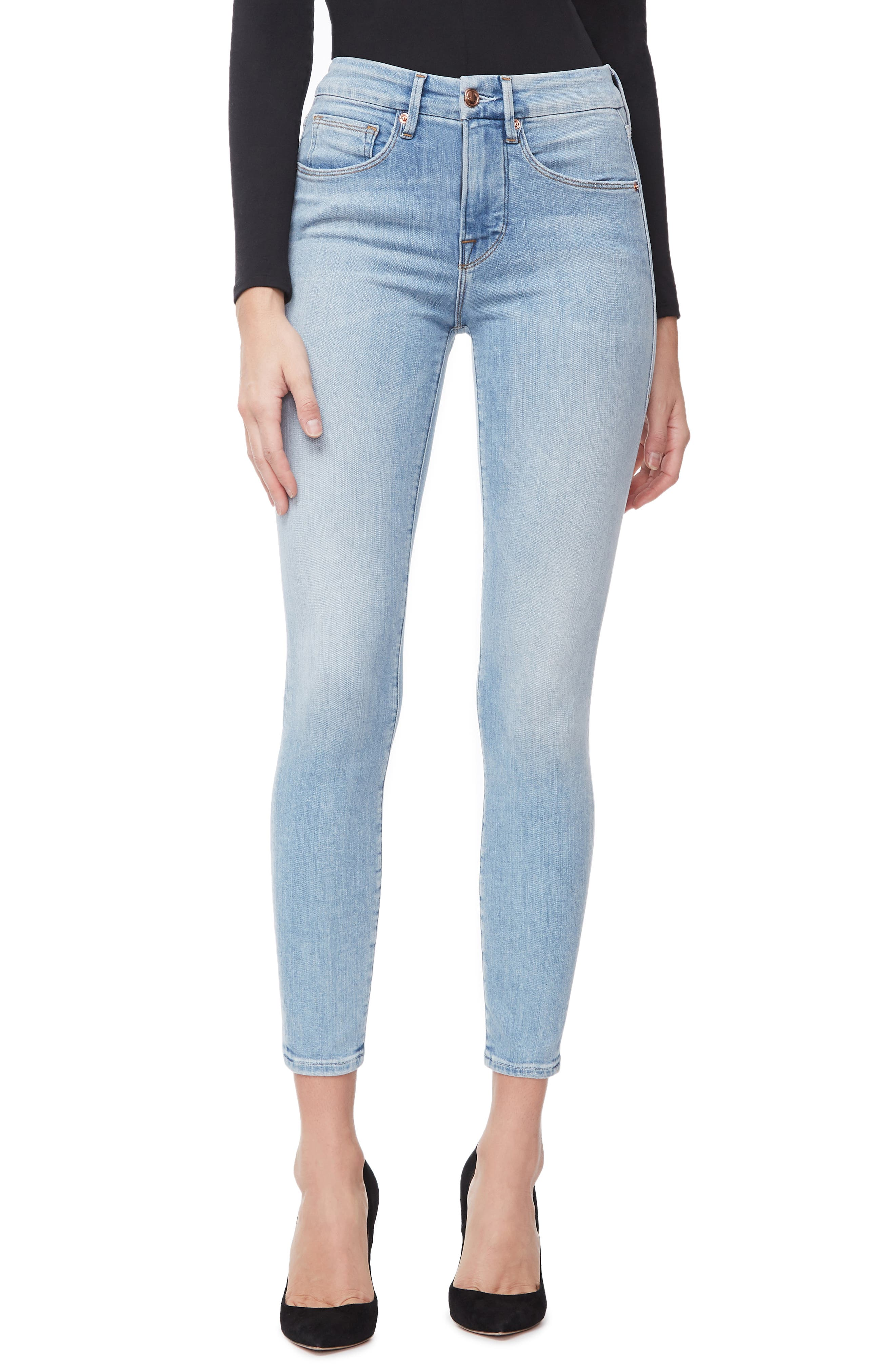 ,                             Good Legs Ankle Skinny Jeans,                             Main thumbnail 21, color,                             404