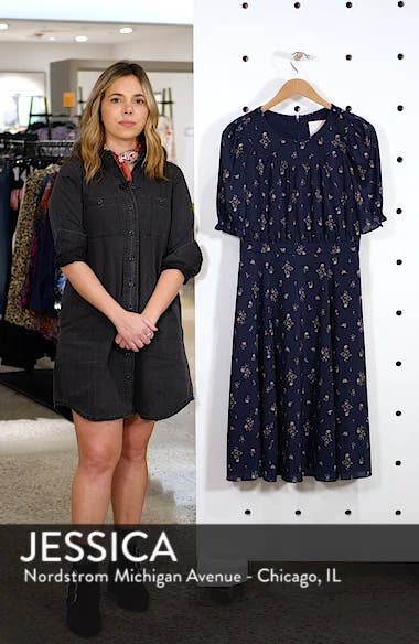 Emily Fit & Flare Dress, sales video thumbnail