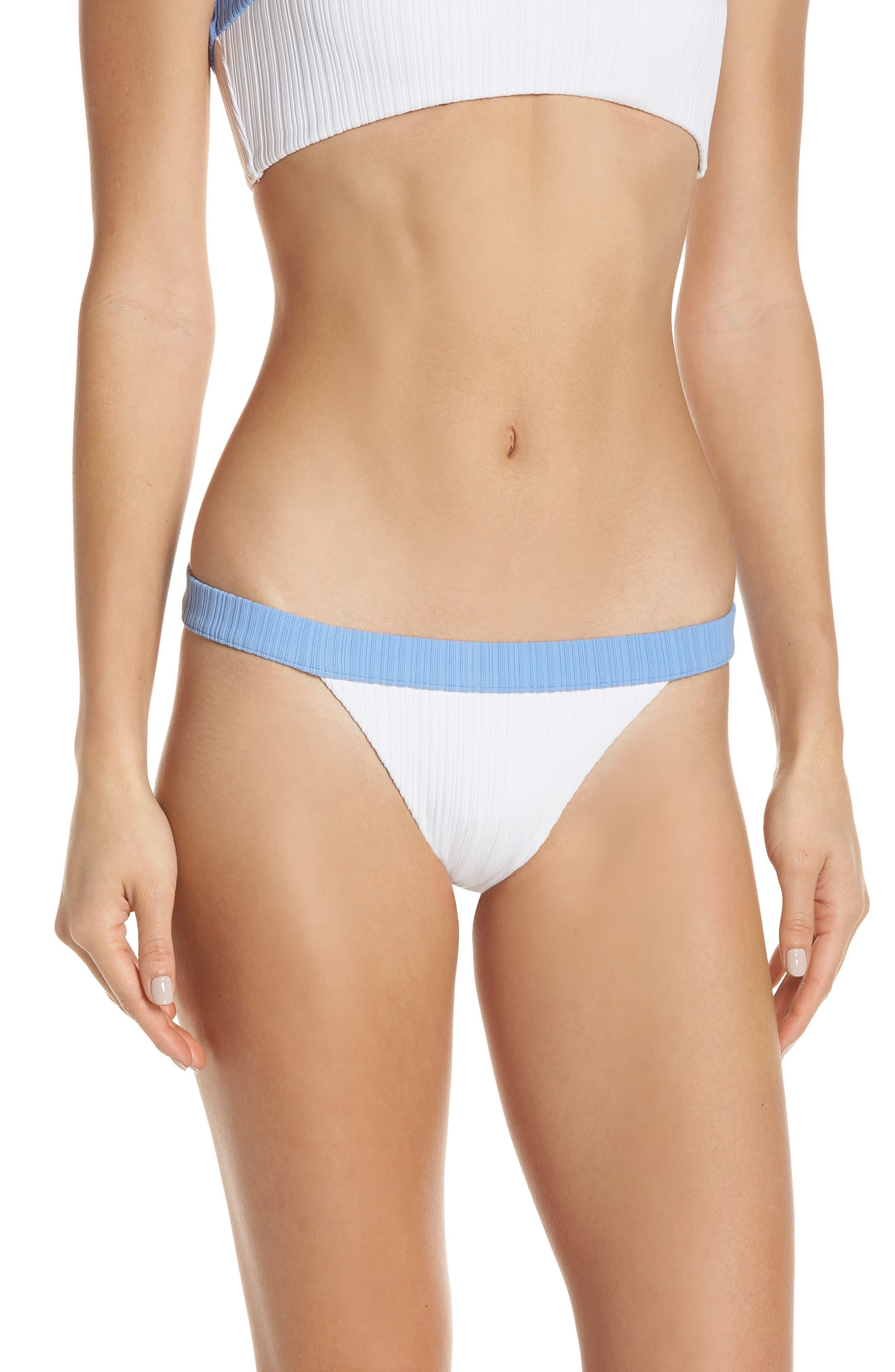Onia Leila Bikini Bottoms, White