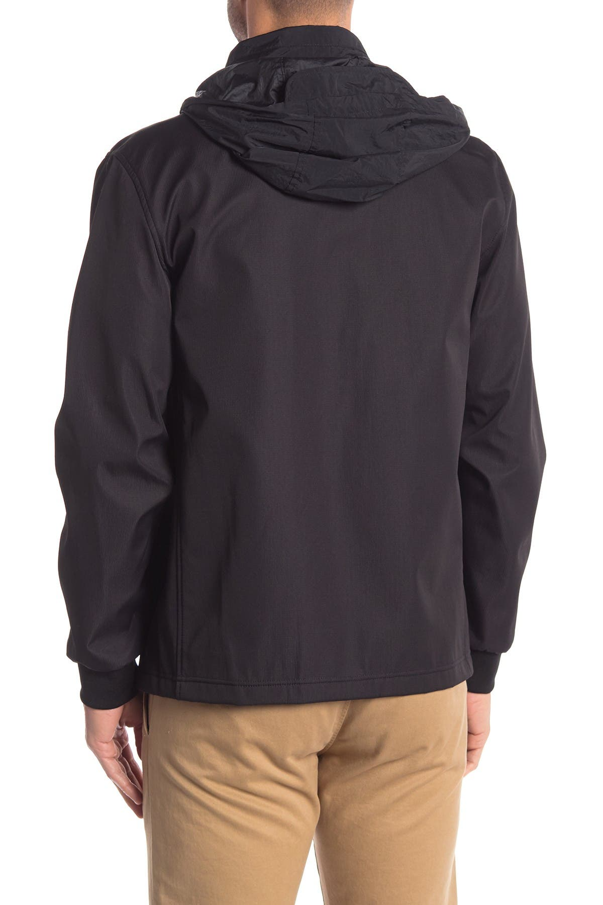 Image of Cole Haan Zip Front Soft Shell Jacket