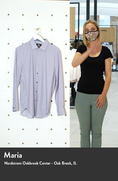 Trim Fit Check Performance Dress Shirt, sales video thumbnail