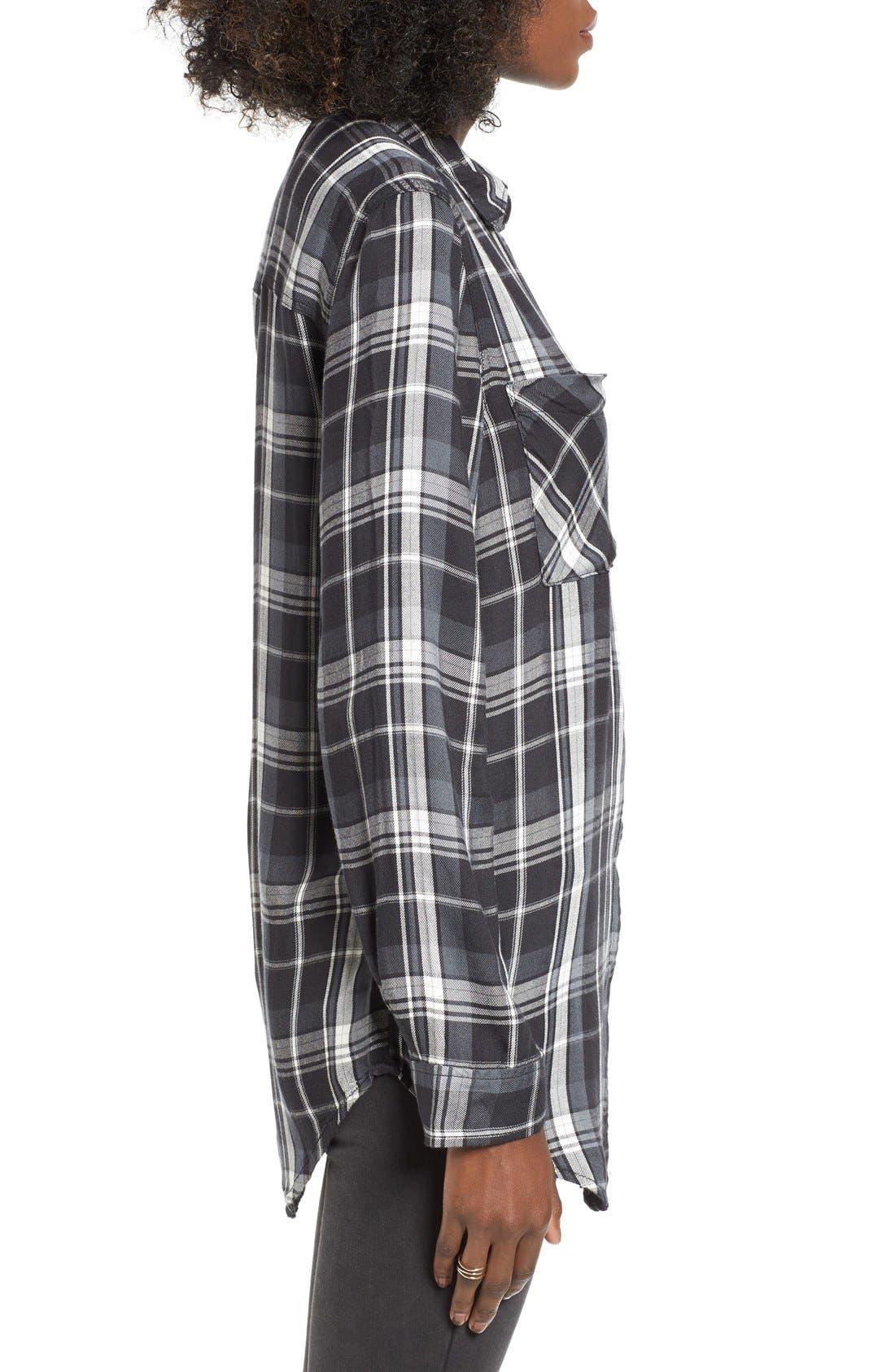 ,                             Plaid Tunic Shirt,                             Alternate thumbnail 11, color,                             002