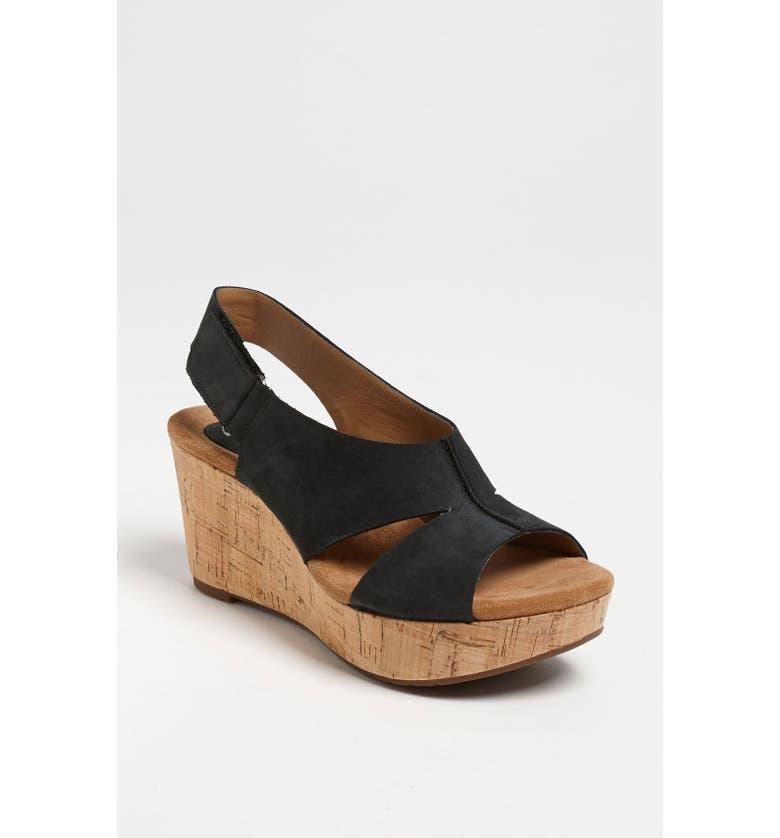 CLARKS<SUP>®</SUP> 'Cassylynn Lizzie' Sandal, Main, color, 001