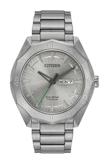 Image of Citizen Men's Eco-Drive Bracelet Watch, 44mm