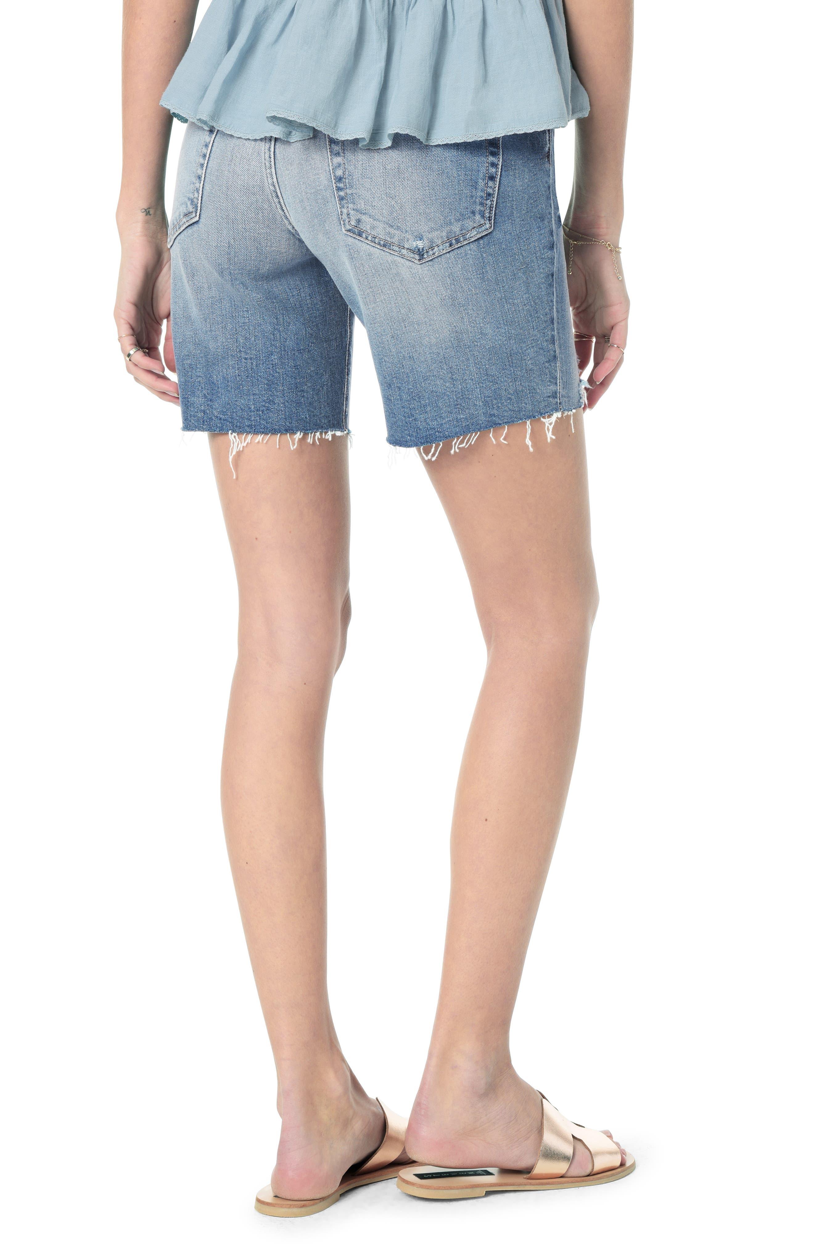 ,                             Cutoff Bermuda Shorts,                             Alternate thumbnail 2, color,                             FARREN
