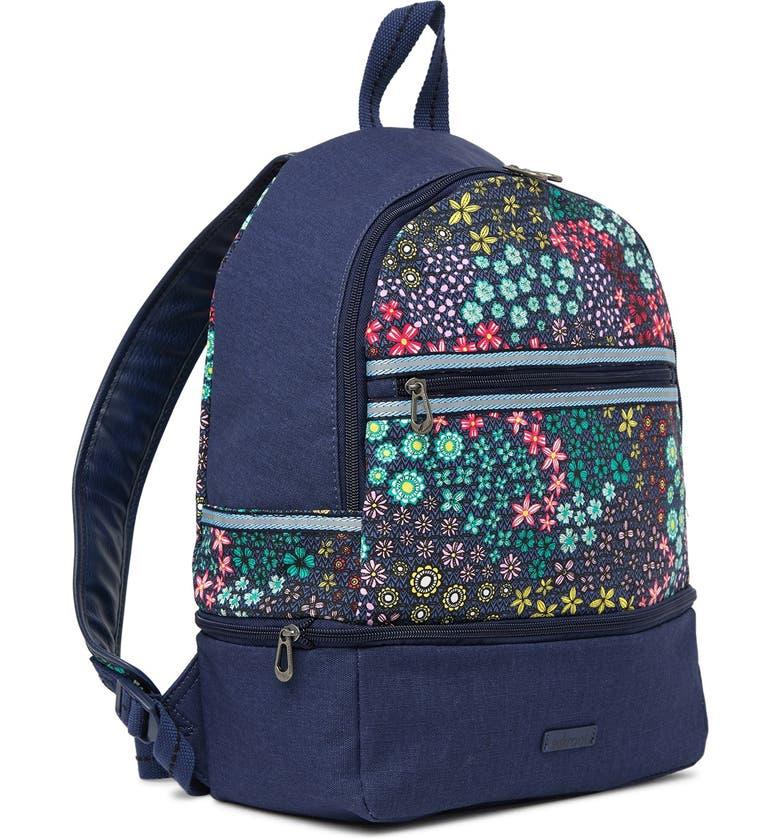 SAKROOTS Artist Circle Entrada Backpack, Main, color, NAVY FS